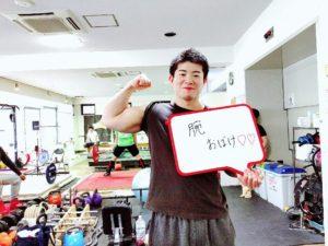 木目田トレーナーのベンチプレス練習が凄い!
