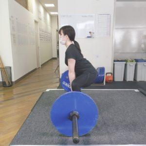 フリーウエイトのパーソナルトレーニング