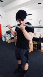 腕のトレーニング