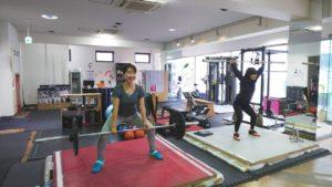 【横浜】女性も気軽にトレーニングできます♪